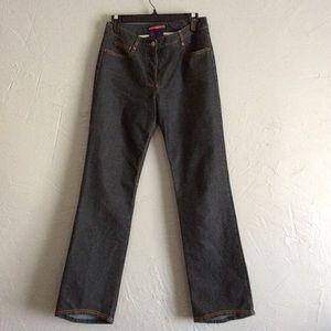 BCBG MAXAZRIA Jeans size 6 Buttonfly